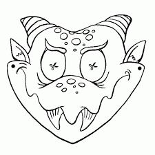 Niewu Carnaval Maskers Kleurplaten Kleurplaat 2019