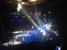 concert seat view for madison square garden section 212 row 3 seat 4
