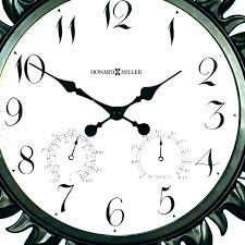 large outdoor clocks waterproof home advisor jobs digital wate large outside wall clocks