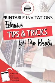 Easy Invitation Templates How To Edit Printable Invitation Templates Bailemor
