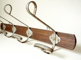 Vintage Coat Hook Rack Vintage French Coat Rack Rustic Coat Hook Hanger Rustic coat 40