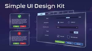 Game Menu Ui Design Simple Ui Menu Design Widget Umg By Doyukim In Blueprints