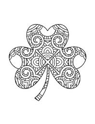 Have the students cut out each page. Shamrock Coloring Worksheets Teaching Resources Tpt