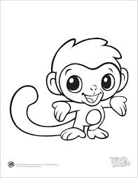 Cute And Free Printablesfrom Leapfrog Baby Animal Coloring Pages