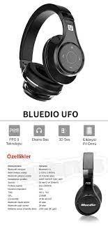 Bluedio UFO 3D PPS Bluetooth 4.1 Kulaklık Altın Fiyatı
