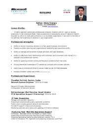 general engineer resume network system engineer resume