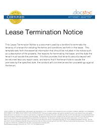Lease Letter Of Intent Sample Cover Letter Sample Letter To Terminate Lease From Landlord Sample 9