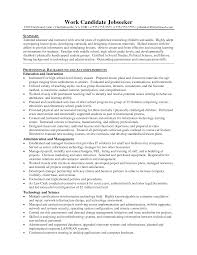 Cover Letter Resume Templates Education Resume Templates Educational