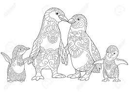 Pinguin Tekenen In Stappen Kleurplaat Beste Kleurplaat