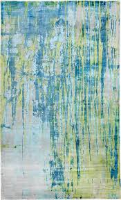 dynamic rugs artisan 1604 155 8 x11 turquoise lime rug