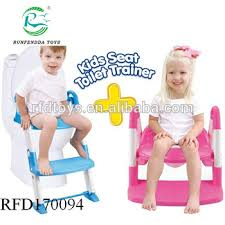 3 In 1 Potty Training Seat For Boys Girls Potty Seat With Sturdy Non Slip Ladder Toilet Seat Reducer Portable Potty Buy Safety Step Baby Toilet