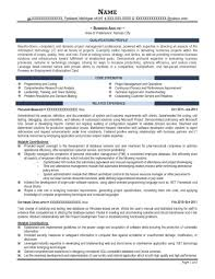 Resume For Analyst Job Business Analyst Job Resumes Tolgjcmanagementco 77