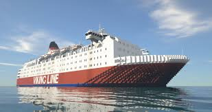Rather rare footage from onboard viking sally, later to be estonia. Viking Sally Minecraft Map