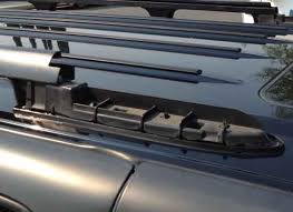 building a roof rack deck on a gmt800 suburban z 71 expedition the 5 16 carriage bolts were a very snug fit in the slot so to ease their install i used a little front to rear leverage the claw of a hammer to