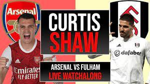 Arsenal v Fulham Live Watchalong (Curtis Shaw TV) - YouTube