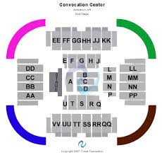 Convocation Center Seating Chart Related Keywords