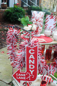 Candy Cane Lane Decorations 60th Annual Cookie Party Candy Cane Lane a Peppermint White 21