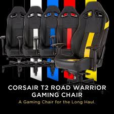 Corsair recommends using the latest version of google chrome or mozilla firefox web browsers. Corsair T2 Road Warrior Gaming Chair Riaz Computer