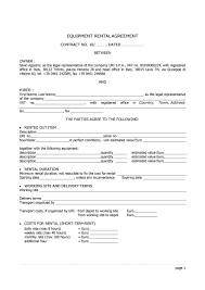 Permalink to Equipment Rental Agreement Template / Free 9 Sample Equipment Lease Agreement Forms In Pdf Ms Word / This invoice can be used for renting construction.