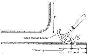 Emt Bender Conduit Bending Instructions Elliott Electric