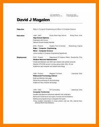 9 10 Resume Associates Degree Sample Samples