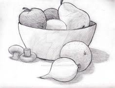 fruit bowl drawing with shading. Unique Drawing A Fruit How To Draw Collections Of Objects Art Ideas Painting Intended Fruit Bowl Drawing With Shading A