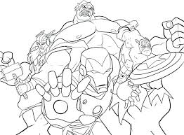 Avengers Coloring Pages To Print Avengers Infinity War Coloring
