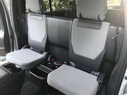 2021 tacoma access cab rear seat covers