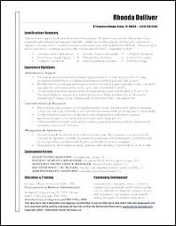 Administrative Assistant Resume Templates Amazing Project Management Resume Executive Assistant Manager Resume Project