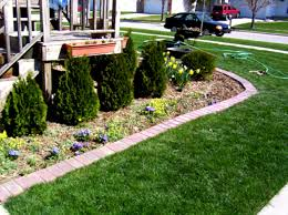 Small Picture Ideas For Flower Bed Edging Home Depot Garden Edging Garden
