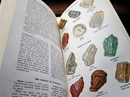 Geology Rock Identification Chart Vintage Rocks And Minerals Book Artistic Identification Guide Study Of Geology Rock Chemistry Vintage Golden Guide Gift Rock Enthusiast