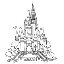 Kastelen 0012 Projecten Om Te Proberen Castle Coloring Page