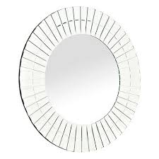Star by Julien Macdonald Glass Tiled Bordered Round Mirror