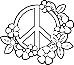 Small Picture Coloring pages for teens peace sign ColoringStar