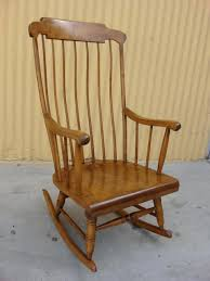 country antique wooden rocker vintage childs wood rocking chair
