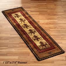 rawhide area rug