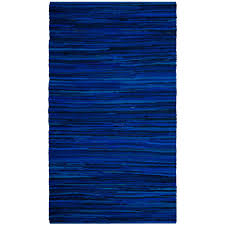 safavieh rag rug blue multi 5 ft x 8 ft area rug