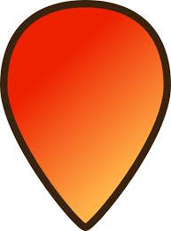Resultado de imagen de icono mapa naranja