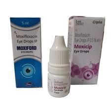 opthalmic cine moxicip eye drop