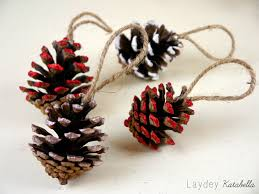 Pine Cone Christmas Decorations Diy Pine Cone Christmas Decorations Youtube