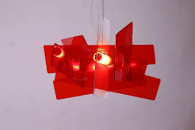 widely used modern red chandelier throughout d65cm 95cm modern foscarini big bang stacking creative modern
