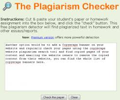 plagiarism occurrence in various circumstances