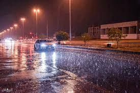 جريدة الرياض   الأمطار تعطر أجواء الرياض