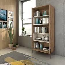 Joy 5 Shelf Bookcase Off-White - <b>Manhattan Comfort</b>, Beige | Идеи
