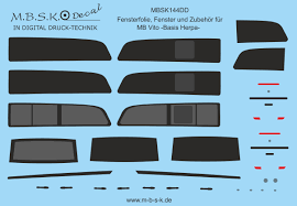 Mbsk Modellbau Studio Kaiserberg Fensterfolien Fenster Und