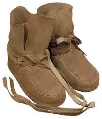 Steger Mukluks Apache Maple Moccasins Warm Winter Boots