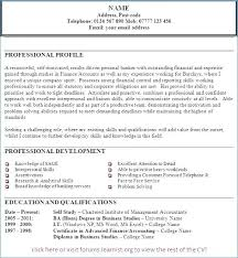 Professional Statement Resume Goal Statement A Sample Professional ...