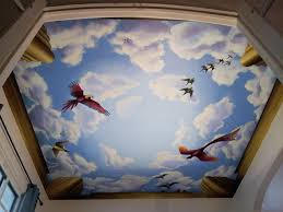 Ceiling Murals traditional