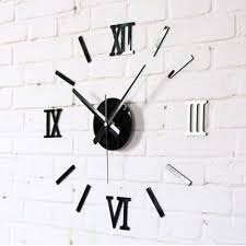 Kitchen Wall Clocks Modern Modern 3d Wall Clocks Sticker Removable Wall Decal Art Mural Clock