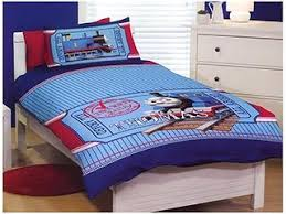 16 best Quilt - Thomas images on Pinterest | Engine, DIY and Baby ... & Thomas the Tank Engine Train Bedding Quilt Cover Set Single All Aboard Adamdwight.com